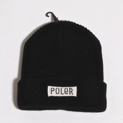 POLER WORKERMAN BEANIE / BLACK