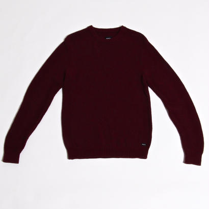 RVCA CHUM SWEATER / BURGUNDY
