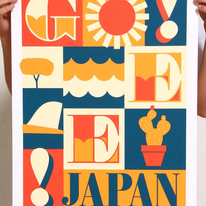 JEFF CANHAM × GEE ORIGINAL SILKSCREEN PRINT / EDITION35