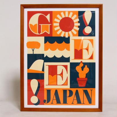 JEFF CANHAM × GEE ORIGINAL SILKSCREEN PRINT  ON FLAME  / B