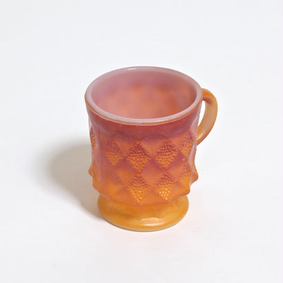 FIRE KING KIMBERLY MUG /  ORANGE