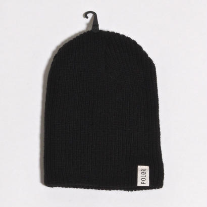 POLER TUBE CITY BEANIE / BLACK