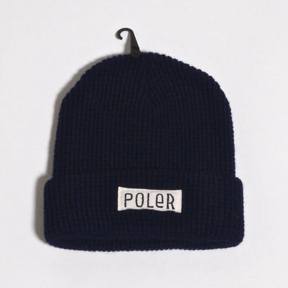 POLER WORKERMAN BEANIE / NAVY