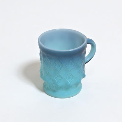 FIRE KING KIMBERLY MUG /  BLUE