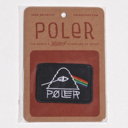 POLER  PSYCHEDELIC PATCH / BLACK