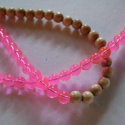 neon mix necklace  S
