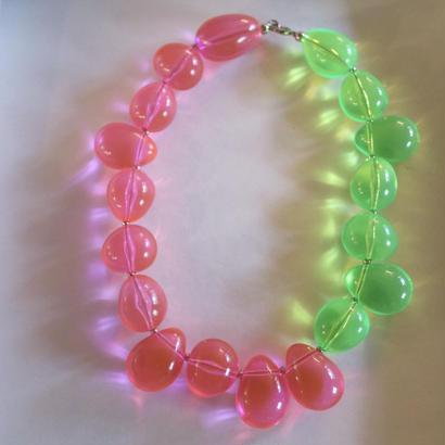 """""""FLORIAN"""" neon color necklac"""