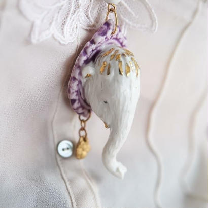 JokeSchole Elephant necklace
