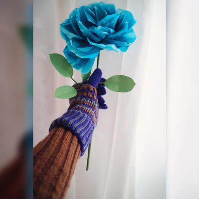 Hand-knitted gloves『JUN MIKAMI』