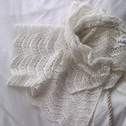 thibaut lace cape