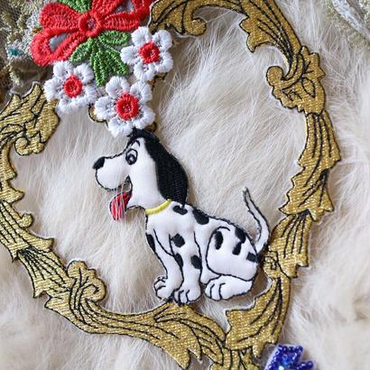 Luxury lace necklace dog