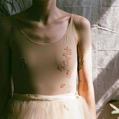 Fauvette Applique Bodysuit