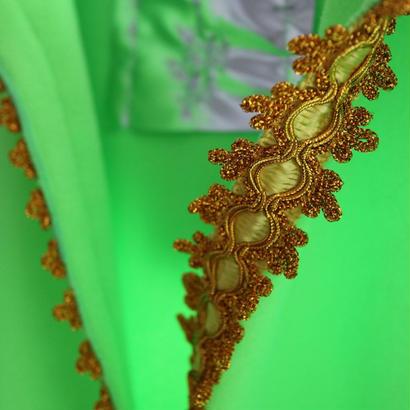 I AM M   Luxury parka  green