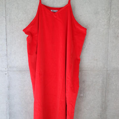 『mikiosakabe』Simple dress  red