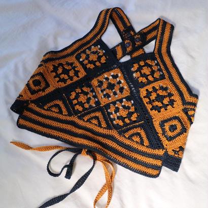 """""""crocket knit tops"""" JUN MIKAMI"""