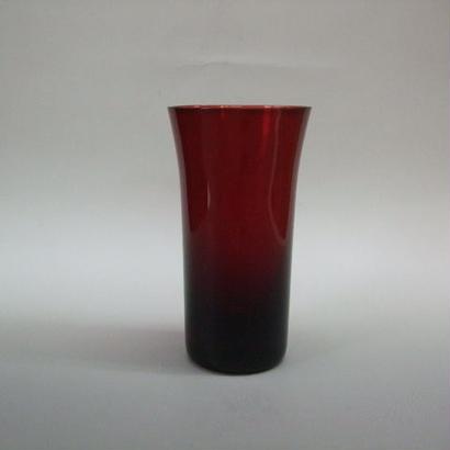 ビールグラス 赤