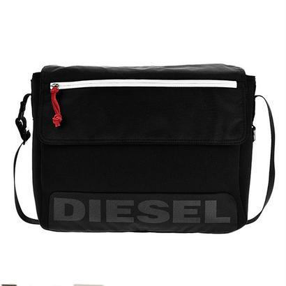 ディーゼル DIESEL メンズ ショルダーバッグ X04810-P1376-T8013 ブラック 送料無料