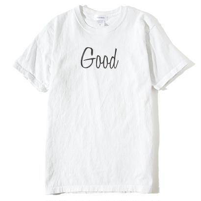 GOOD  T-SHIRT/WHITE GDT-002