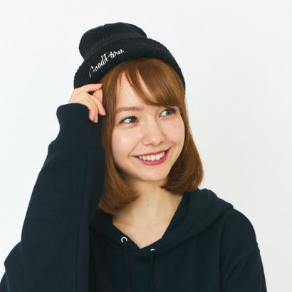 GOOD PARIS KNIT CAP / BLACK GDG-004
