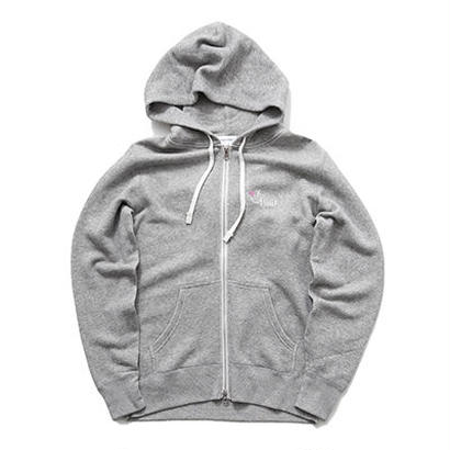 SMILE GOOD ZIP UP PARKA / GREY GDP-003