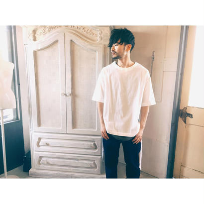 THEE 「Slit Shirts」white