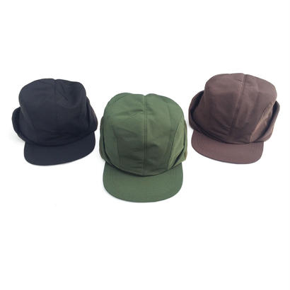 COMFORTABLE REASON 「Gold Ear Flap cap」