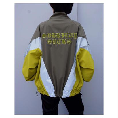 Black Weirdos「Reclector Track Jacket」