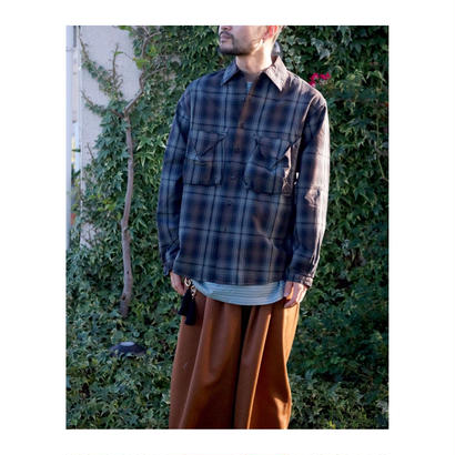 ETHOS「CHECK POCKET SHIRTS」
