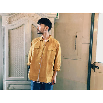 SON OF THE CHEESE 「Big flap shirts」