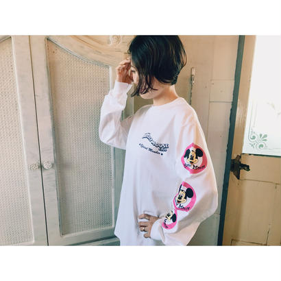 VOTE MAKE NEW CLOTHES 「MICKY MOUSE long sleeve tee」