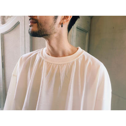 ETHOS 「NECK SHIRRING  TEE」
