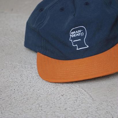 BRAIN DEAD「60/40 Logo cap」