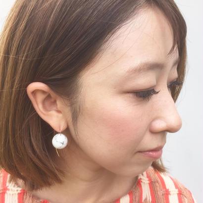 TAN 「MARBLE  pin」