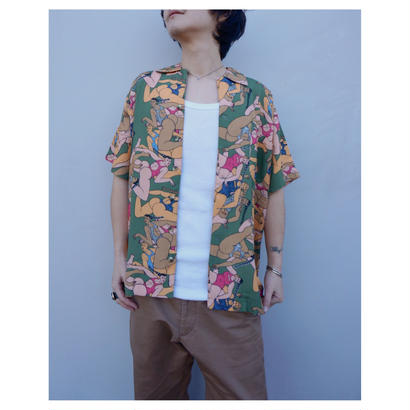 BRAIN DEAD「Hawaian Shirt」