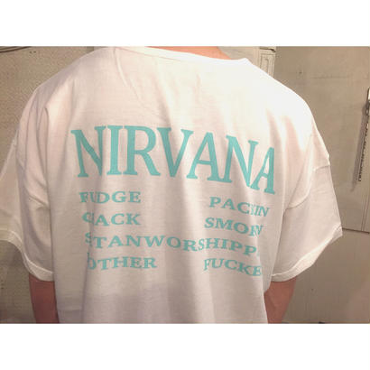 Black Weirdos 「$LASH NIRVANA TEE」