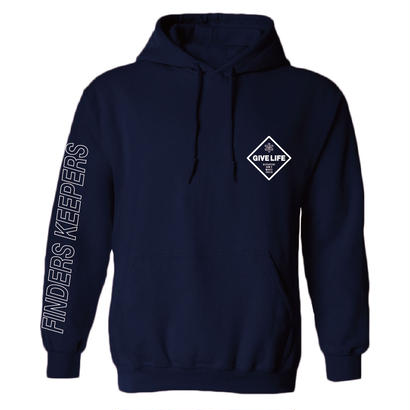 "Give Life ""Invisible One Hoodie"" Navy"