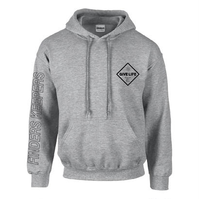"Give Life ""Invisible One Hoodie"" Gray"