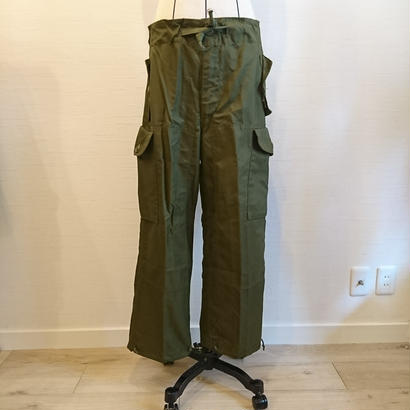 【Cnadian Army 80´S Wind Over Pants Dead Stock】カナダ軍 80´S ウィンド オーバーパンツ Small/Short Dead Stock