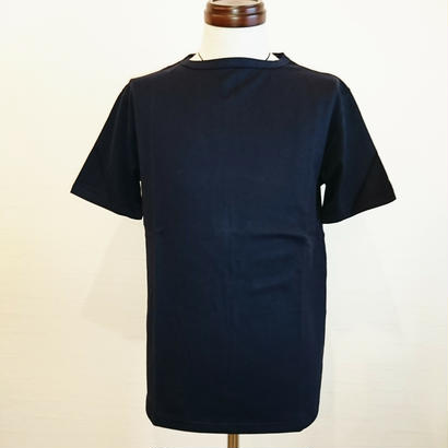 【Tieasy AUTHENTIC CLASSIC/ティージーオーセンティッククラシック】サマーニットTシャツ ネイビー