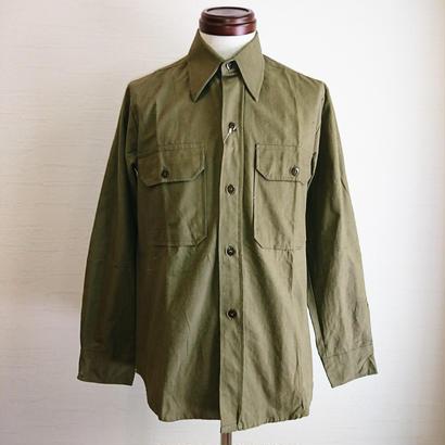 【Greece Army Utility Shirt used】ギリシャ軍 ユーティリティシャツ used