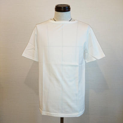 【Tieasy AUTHENTIC CLASSIC/ティージーオーセンティッククラシック】サマーニットTシャツ ホワイト