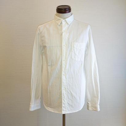 【Tieasy +PLUS/ティージー プラス】ボタンダウンシャツ ホワイト