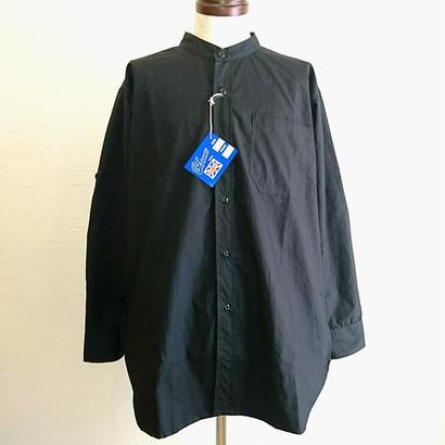 【Yarmo/ヤーモ】Band Collar Shirt バンドカラーシャツ