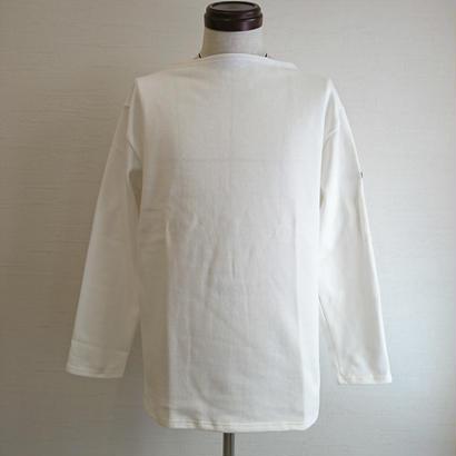 【SAINT JAMES/セントジェームス】OUESSANT SHIRT ウエッソン シャツ ホワイト