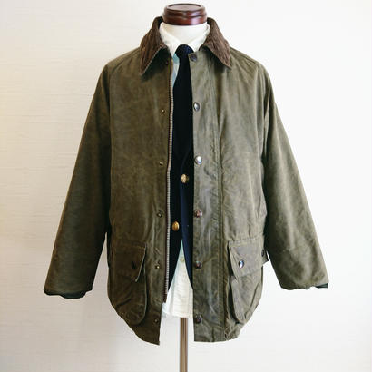 【Yoused/ユーズド】Remake&Oilout  Barbour/リメイク&オイルアウト バブアー サイズ38 オリーブ