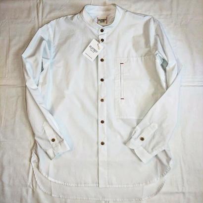 【FUTTEN/フッテン】タイプライターシャツ ホワイト