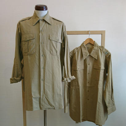 【50´S~60´S Vintage French Work Shirt Dead Stock】50´S~60´Sヴィンテージ フレンチワークシャツ Dead Stock