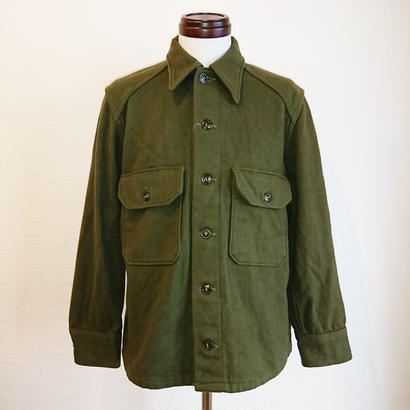 【US.Army 50´S M-51 Wool Shirt used】アメリカ軍  50´S M-51 ウールシャツ  uesd