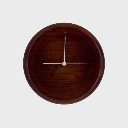 wall clock ( 拭き漆 )