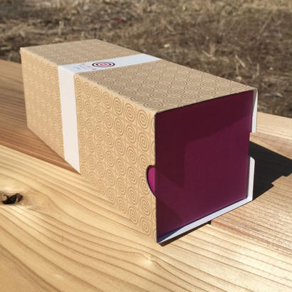 ありがとうが溢れる割り箸 紫色